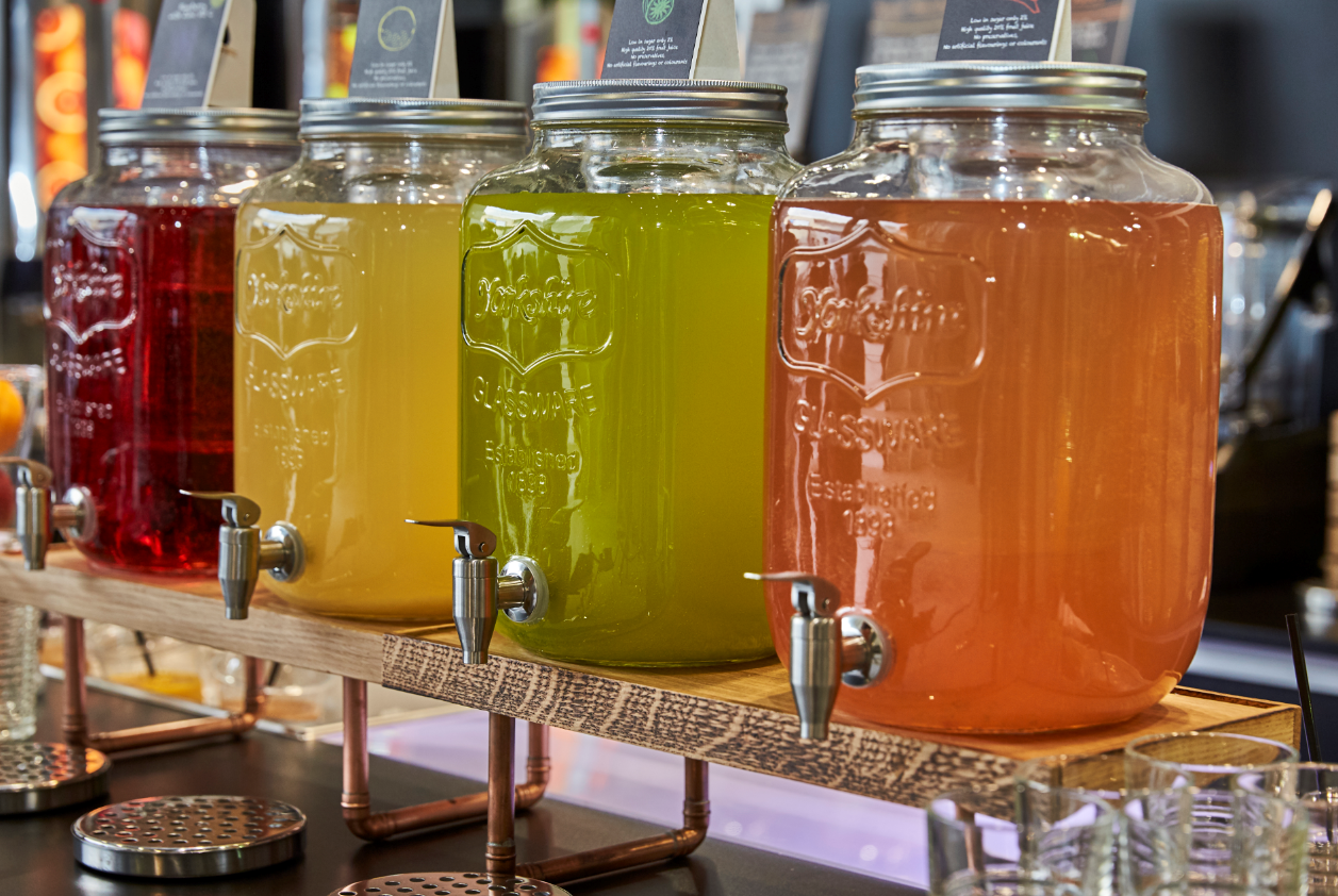 Hydration Station with Four Delicious Flavours of Oranka's Hydration Juice