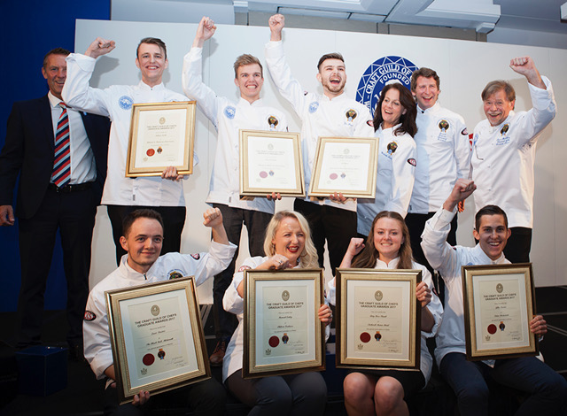 Craft Guild of Chefs Graduate Awards Winners of 2017
